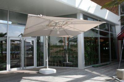 Parasol décor d'ombre