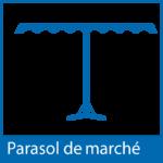 Icône parasol de marché